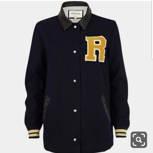 River island (Riris clothing line) varsity jacket